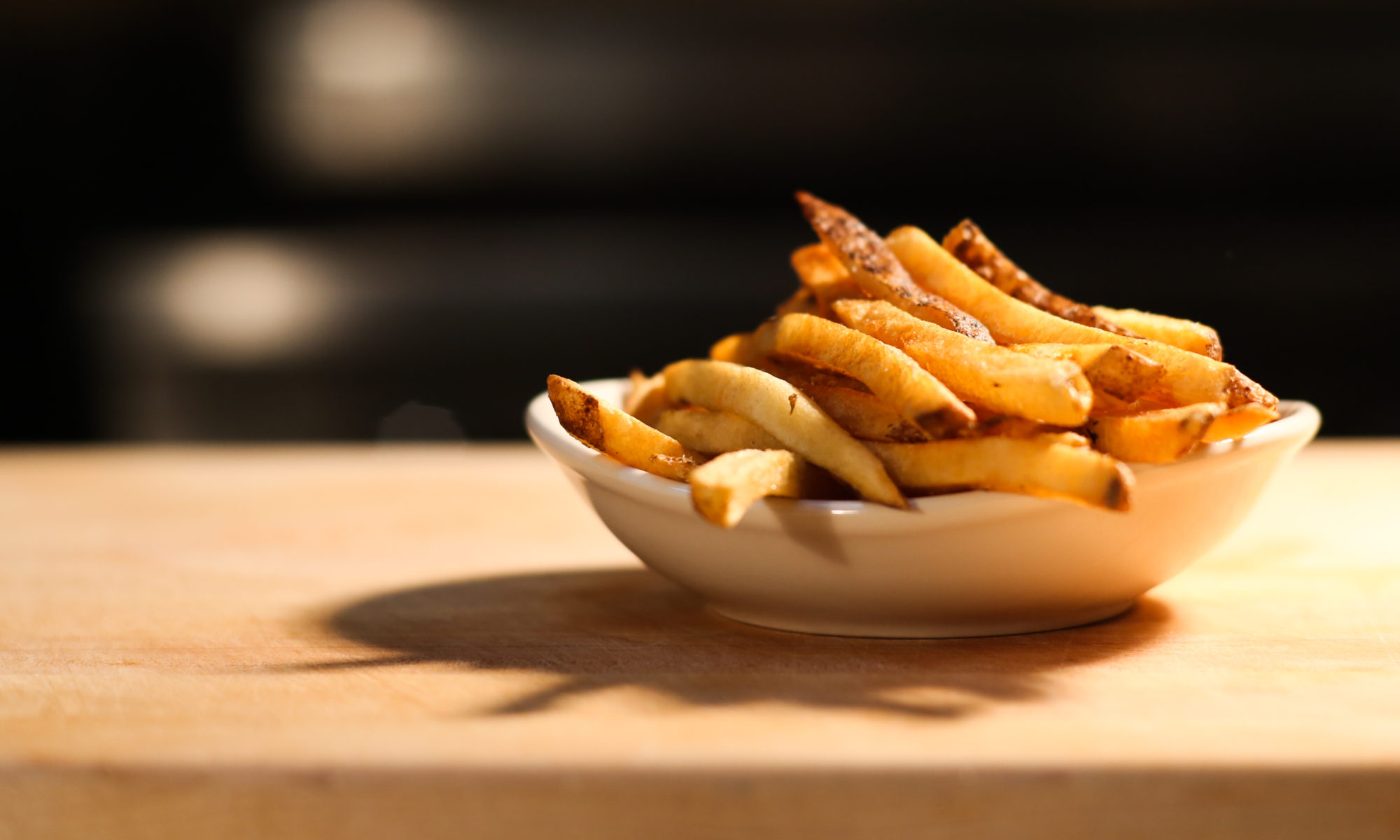 HiHo Fries in a white dish