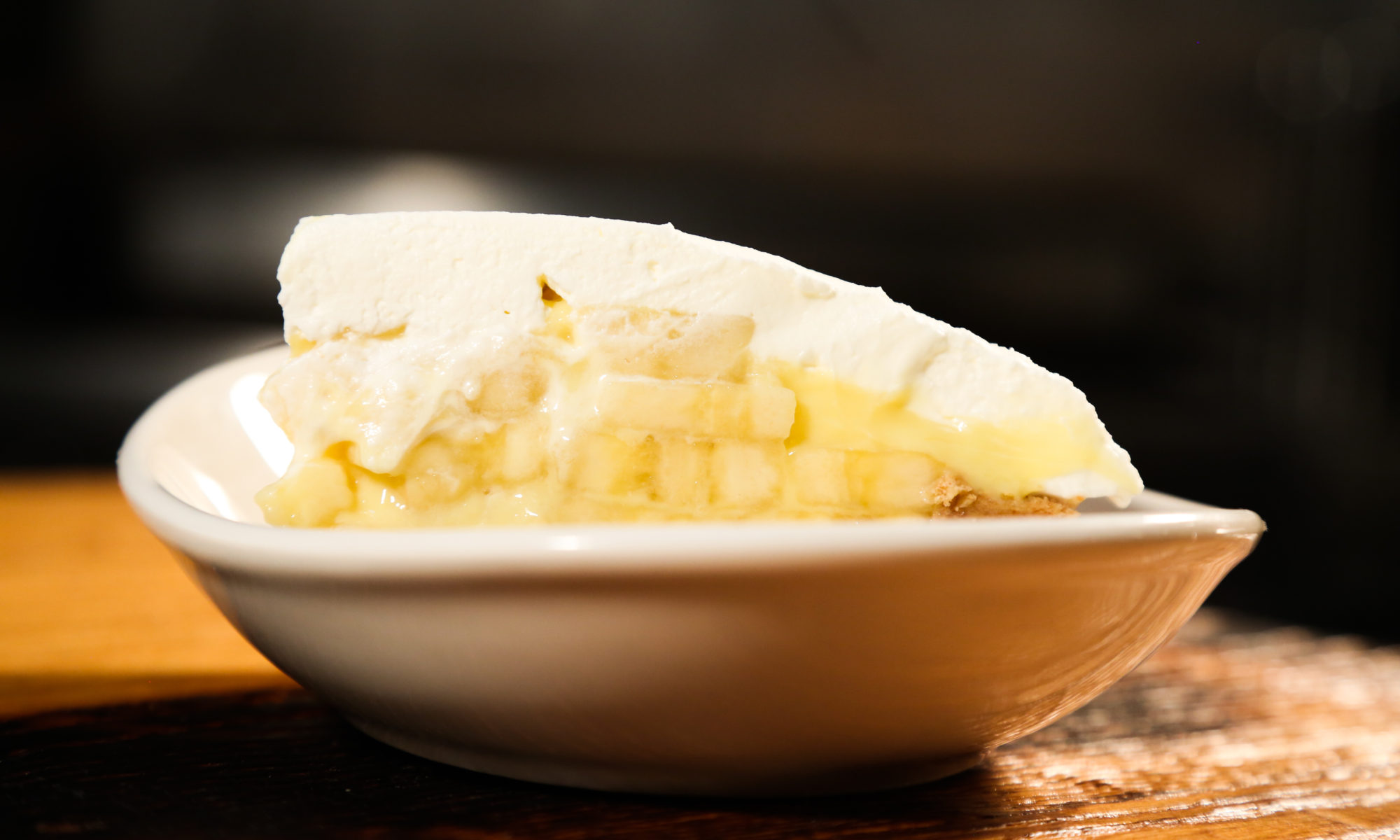 Banana Cream Pie in a dish