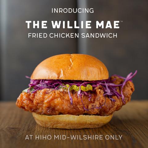 The Willie Mae Fried Chicken Sandwich